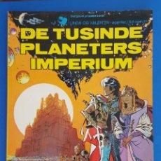 Cómics: COMIC /LINDA OG VALENTIN-AGENTER I TID OG RUM / DE TUSINDERS PLANETERS IMPERIUM /DARGAUD1972 BELGICA. Lote 203542573