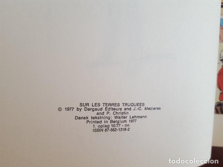 Cómics: COMIC / LINDA OG VALENTIN - AGENTER I TID OG RUM / I DEN FALSKE VERDEN / DARGAUD 1977 BELGICA - Foto 3 - 203548792