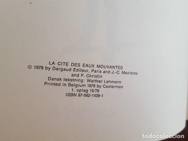 Cómics: COMIC / LINDA OG VALENTIN - AGENTER I TID OG RUM / STORBYEN DER DRUKNEDE / DARGAUD 1977 BELGICA - Foto 3 - 203548962