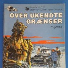 Cómics: COMIC / LINDA OG VALENTIN - AGENTER I TID OG RUM / OVER UKENDTE GRÆNSER / DARGAUD 1988 BELGICA. Lote 203550047