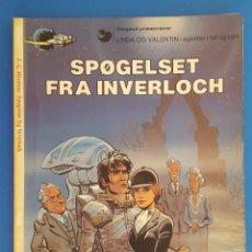 Cómics: COMIC / LINDA OG VALENTIN - AGENTER I TID OG RUM / SPØGELSET FRA INVERLOCH / DARGAUD 1984 BELGICA. Lote 203550490