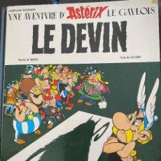Cómics: COMIC ASTERIX EDICIÓN EN FRANCÉS EL PRADO NUM 4 LE DEVIN. Lote 203591505