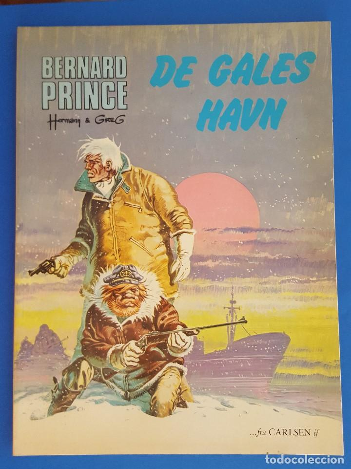 COMIC / BERNARD PRINCE Nº 6 / DE GALES HAVN / CARLSEN / HERMANN & GREG / BELGICA 1978 (Tebeos y Comics - Comics Lengua Extranjera - Comics Europeos)
