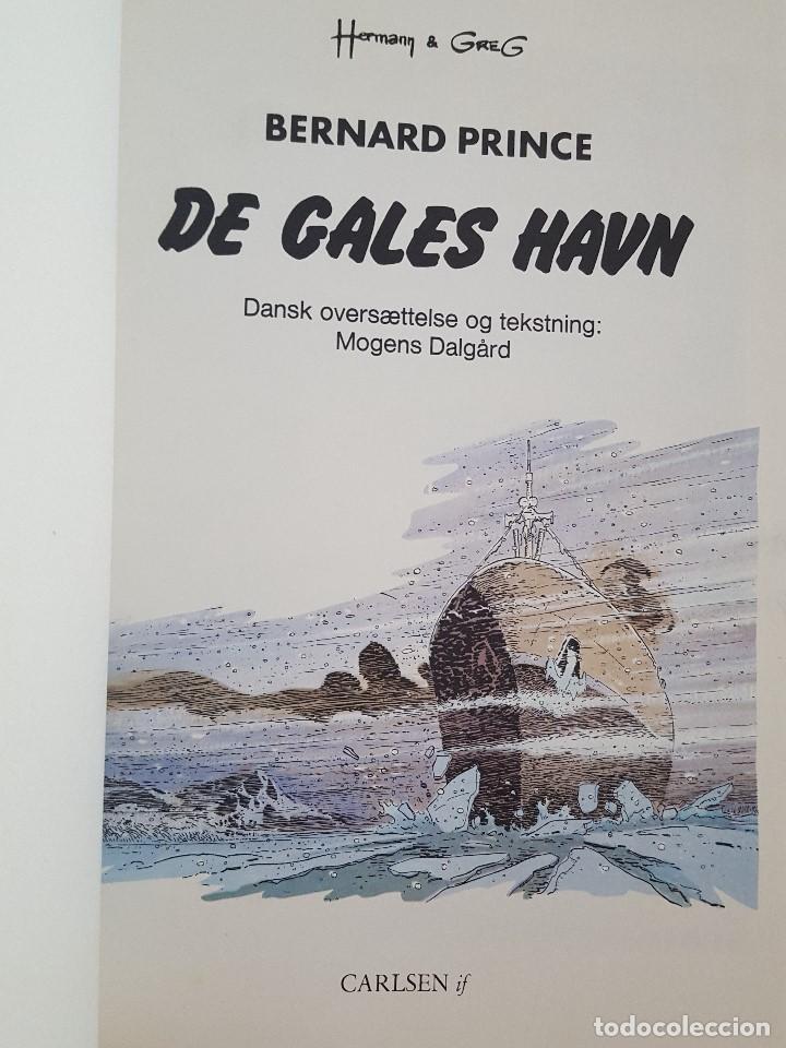 Cómics: COMIC / BERNARD PRINCE Nº 6 / DE GALES HAVN / CARLSEN / HERMANN & GREG / BELGICA 1978 - Foto 2 - 203724926