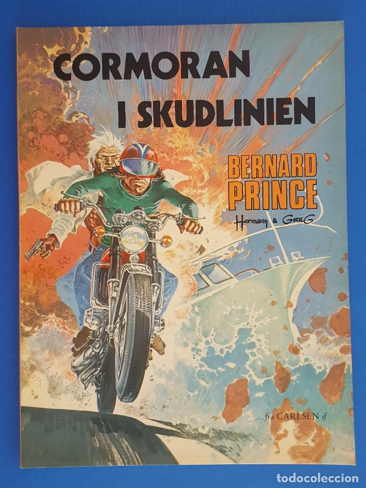 COMIC / BERNARD PRINCE Nº 5 / CORMORAN I SKUDLINIEN / CARLSEN / HERMANN & GREG / BELGICA 1978 (Tebeos y Comics - Comics Lengua Extranjera - Comics Europeos)