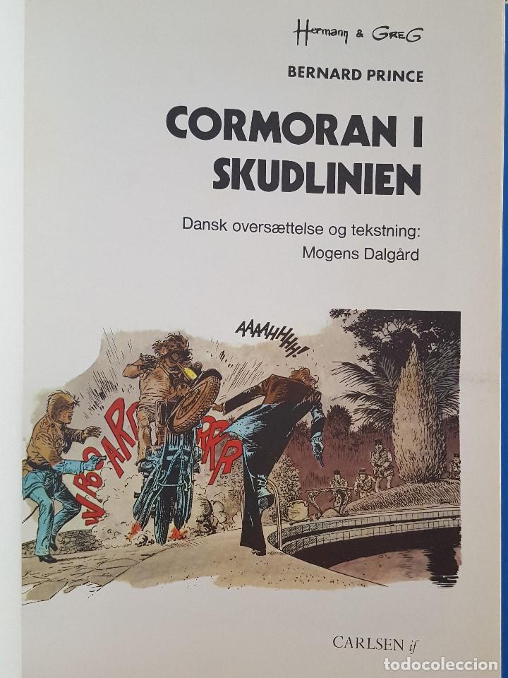 Cómics: COMIC / BERNARD PRINCE Nº 5 / CORMORAN I SKUDLINIEN / CARLSEN / HERMANN & GREG / BELGICA 1978 - Foto 2 - 203725162