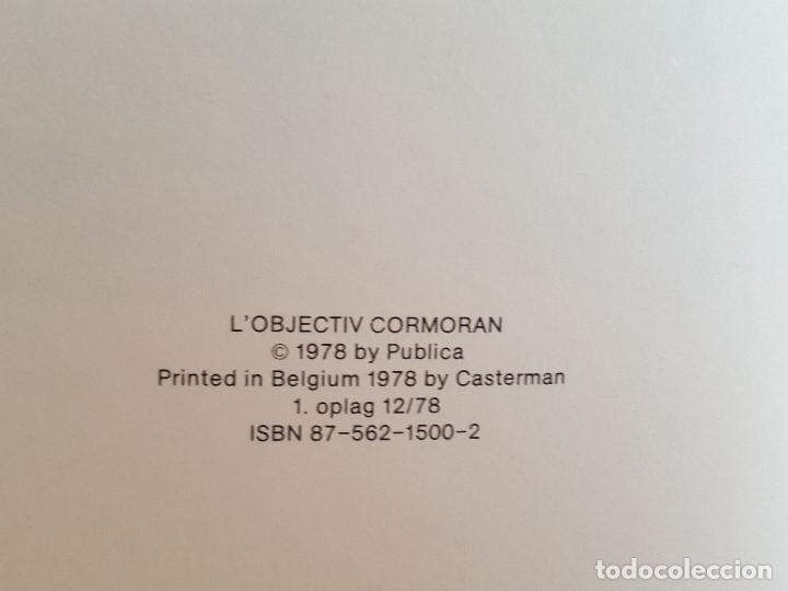 Cómics: COMIC / BERNARD PRINCE Nº 5 / CORMORAN I SKUDLINIEN / CARLSEN / HERMANN & GREG / BELGICA 1978 - Foto 3 - 203725162