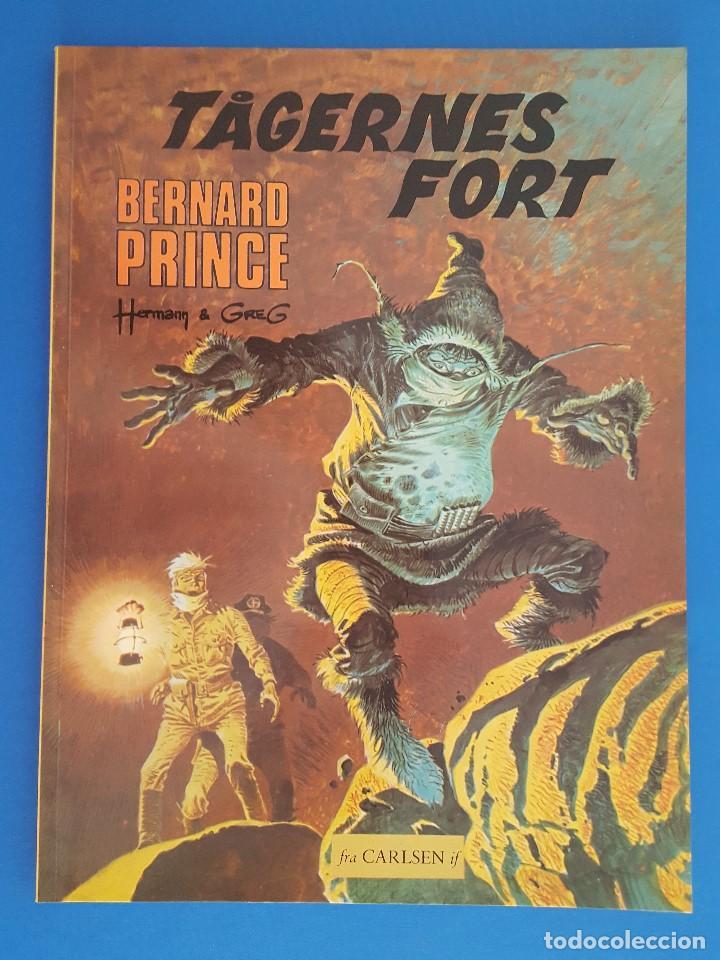 COMIC / BERNARD PRINCE Nº 4 / TÅGERNES FORT / CARLSEN / HERMANN & GREG / BELGICA 1977 (Tebeos y Comics - Comics Lengua Extranjera - Comics Europeos)