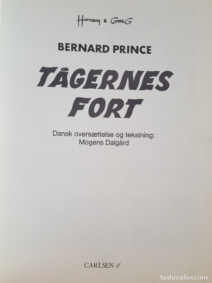 Cómics: COMIC / BERNARD PRINCE Nº 4 / TÅGERNES FORT / CARLSEN / HERMANN & GREG / BELGICA 1977 - Foto 2 - 203725423