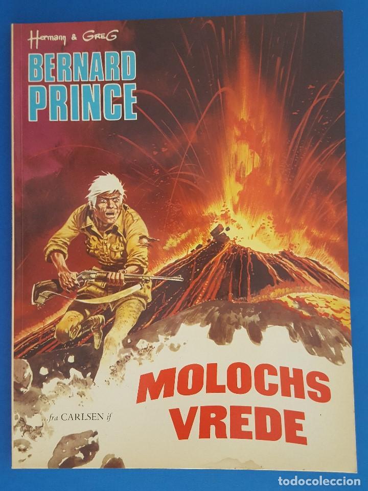 COMIC / BERNARD PRINCE Nº 3 / MOLOCHS VREDE / CARLSEN / HERMANN & GREG / BELGICA 1977 (Tebeos y Comics - Comics Lengua Extranjera - Comics Europeos)