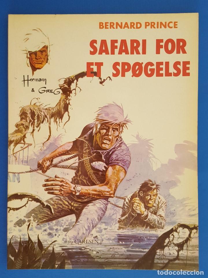 COMIC / BERNARD PRINCE Nº 2 / SAFARI FOR ET SPØGELSE / CARLSEN / HERMANN & GREG / BELGICA 1975 (Tebeos y Comics - Comics Lengua Extranjera - Comics Europeos)
