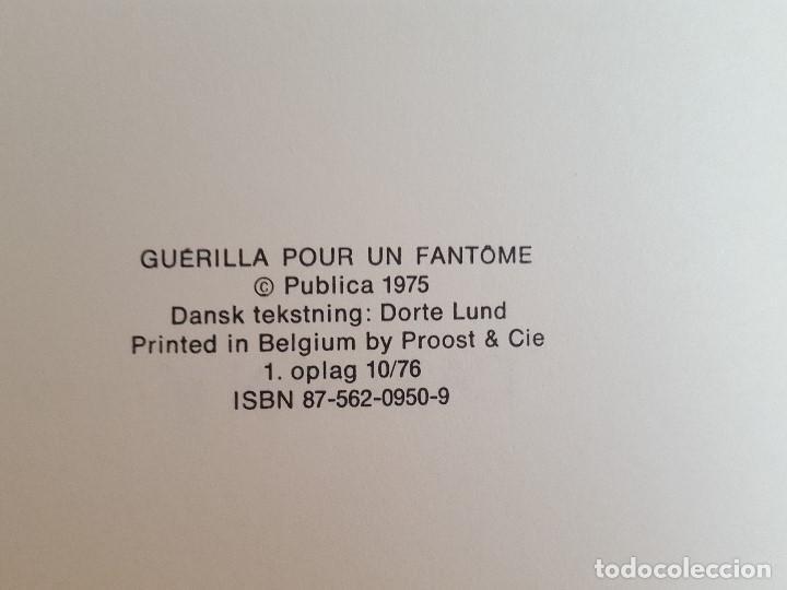 Cómics: COMIC / BERNARD PRINCE Nº 2 / SAFARI FOR ET SPØGELSE / CARLSEN / HERMANN & GREG / BELGICA 1975 - Foto 3 - 203725850
