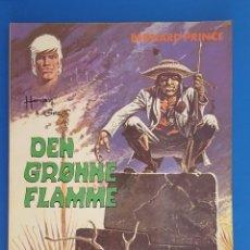 Cómics: COMIC / BERNARD PRINCE Nº 1 / DEN GRØNNE FLAMME / CARLSEN / HERMANN & GREG / BELGICA 1974. Lote 203725997