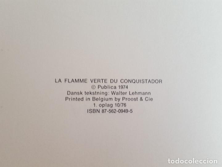 Cómics: COMIC / BERNARD PRINCE Nº 1 / DEN GRØNNE FLAMME / CARLSEN / HERMANN & GREG / BELGICA 1974 - Foto 3 - 203725997