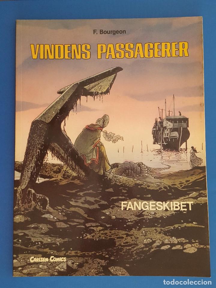 COMIC / VINDENS PASSAGERER Nº 2 / FANGESKIBET / CARLSEN / F.BOURGEON / BELGICA 1981 (Tebeos y Comics - Comics Lengua Extranjera - Comics Europeos)