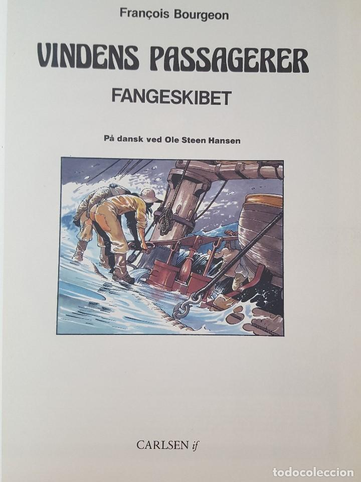 Cómics: COMIC / VINDENS PASSAGERER Nº 2 / FANGESKIBET / CARLSEN / F.BOURGEON / BELGICA 1981 - Foto 2 - 203726370