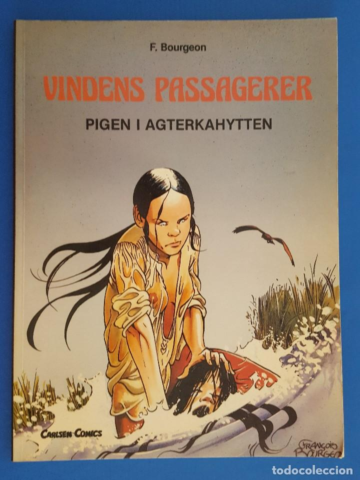 COMIC / VINDENS PASSAGERER Nº 1 / PIGEN I AGTERKAHYTTEN / CARLSEN / F.BOURGEON / BELGICA 1981 (Tebeos y Comics - Comics Lengua Extranjera - Comics Europeos)