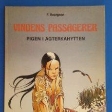 Cómics: COMIC / VINDENS PASSAGERER Nº 1 / PIGEN I AGTERKAHYTTEN / CARLSEN / F.BOURGEON / BELGICA 1981. Lote 203726465