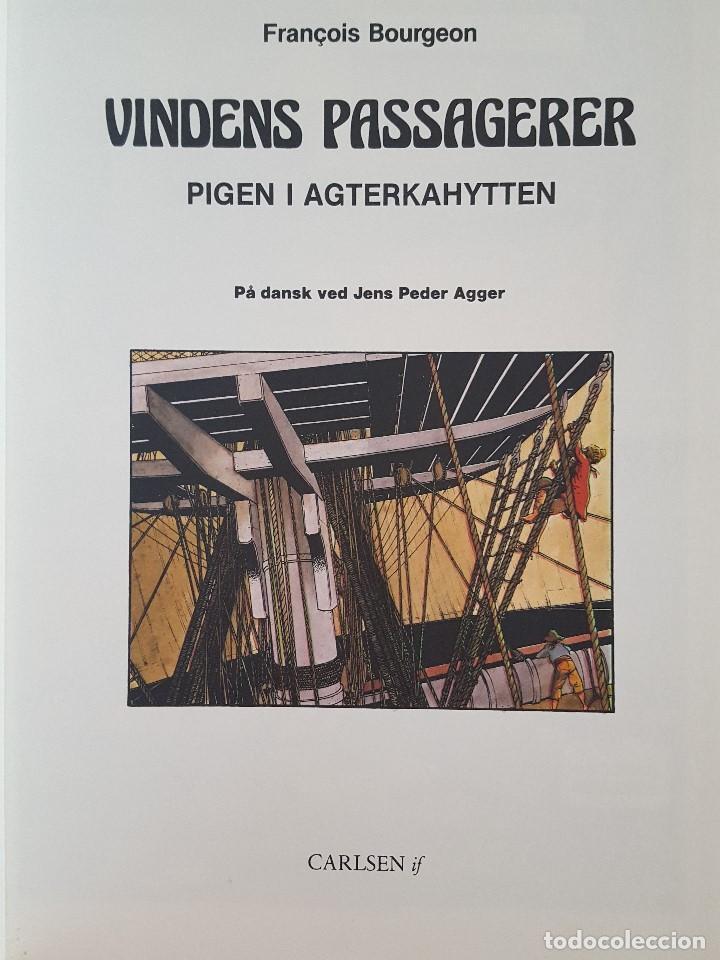 Cómics: COMIC / VINDENS PASSAGERER Nº 1 / PIGEN I AGTERKAHYTTEN / CARLSEN / F.BOURGEON / BELGICA 1981 - Foto 2 - 203726465
