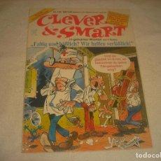 Cómics: CLEVER SMART N. 123. MORTADELO Y FILEMON EN ALEMAN. Lote 203801400