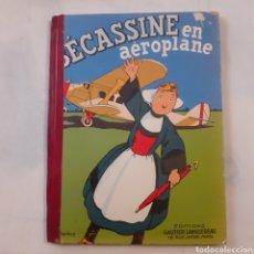 Cómics: BECASSINE EN AEROPLANO. EDITIONS GAUTIER-LANGUEREAU 1957. LOMO REHECHO.. Lote 204057848