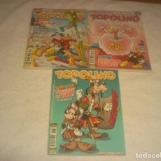 Cómics: LOTE DE 3 COMICS TOPOLINO N. 2676, 2757,2759 . EN ITALIANO. Lote 204315615
