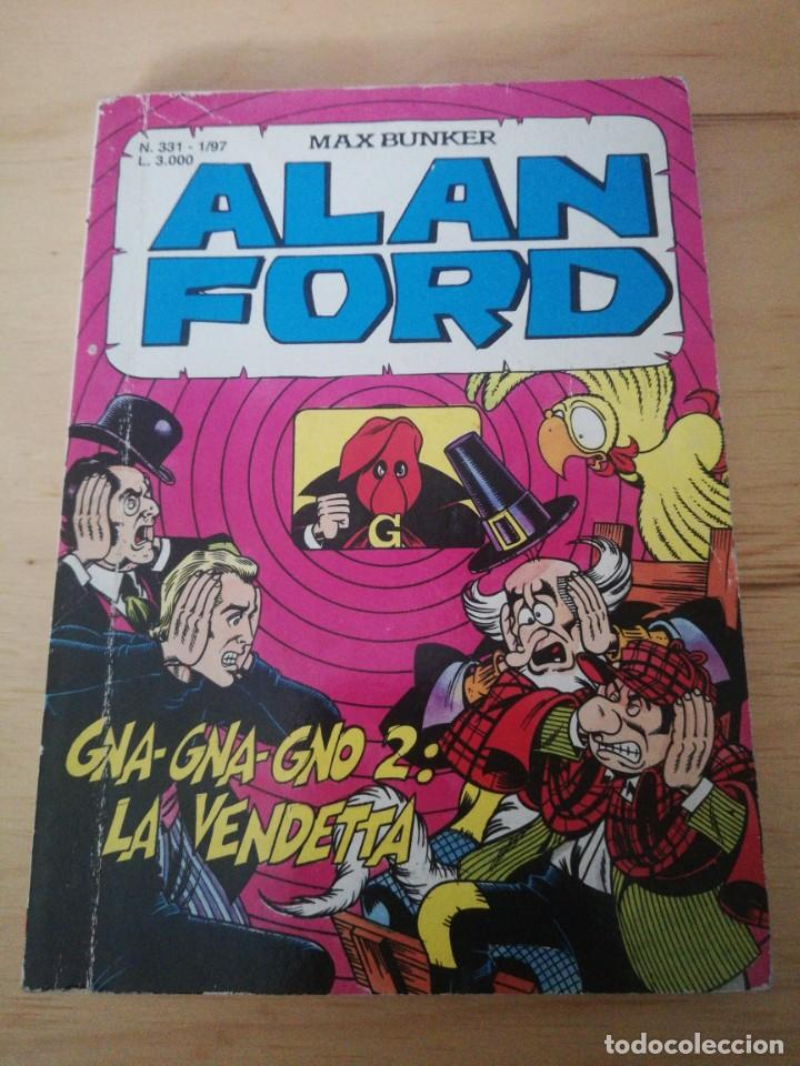 ALAN FORD. EN ITALIANO. (Tebeos y Comics - Comics Lengua Extranjera - Comics Europeos)