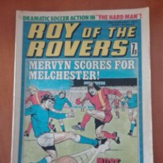 Cómics: COMIC ROY OF THE ROVERS 1977. Lote 205288100
