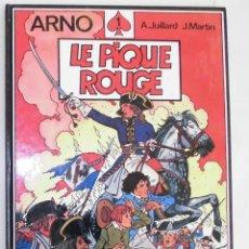 Cómics: ARNO LE PIQUE ROUGE GLÉNAT 1984 EN FRANCÉS. Lote 205350761
