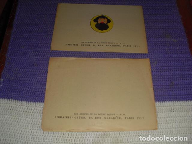 Cómics: LES ALBUMS DE LA BONNE EQUIP Nº 15 Y 16 - Foto 4 - 205399566