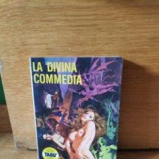 Comics: LA DIVINA COMMEDIA TABÚ N6. Lote 205810533