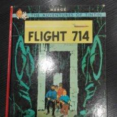 Cómics: TINTIN - FLIGHT 714 - METHUEN. Lote 205832545