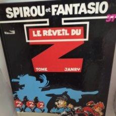 Cómics: SPIROU ET FANTASIO 37: LE REVEIL DU Z. Lote 206987835