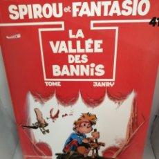 Cómics: SPIROU ET FANTASIO 41: LA VALLÉE DES BANNIS. Lote 206987862