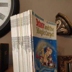 Cómics: COLECCIÓN ASTERIX - COLECCION COMPLETA DE ASTERIX EN INGLES EDICIONES DEL PRADO STUDY COMIC. Lote 208253603