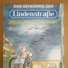 Cómics: DAS GEHEIMNIS DER LINDENSTRABE: DRESSLERS LETZTE FAHRT, POR HINRICHER/KEB/BREITSCHUH. CARLSEN COMICS. Lote 208333893