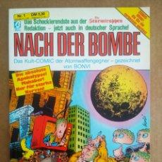 Cómics: NACH DER BOMBE N°1, POR BONVI (BETA VERLAG)/DIE STURMTRUPPEN. EN ALEMÁN.. Lote 208333977