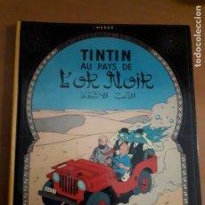 Cómics: TINTIN - AU PAYS DE L'OR NOIR - CASTERMAN 1971 (ORIGINAL FRANCES). Lote 210544316
