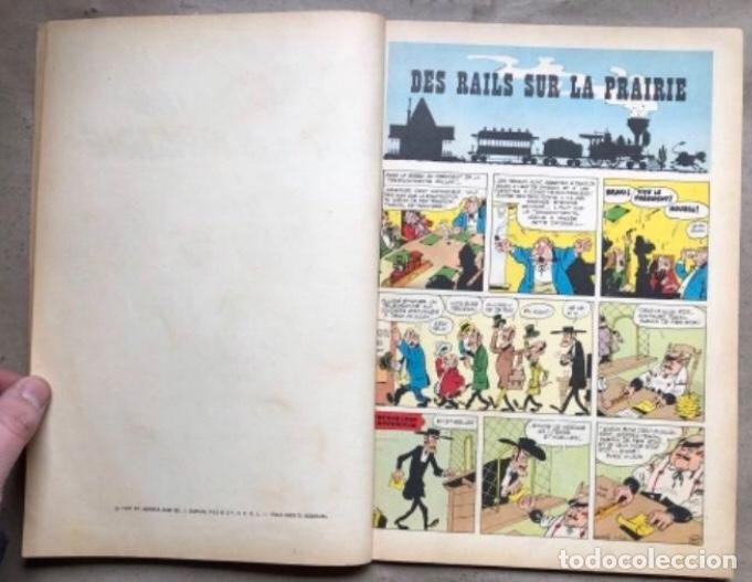"""Cómics: LUCKY LUKE """"DES RAILS SUR LA PRAIRIE"""". ED. DUPUIS 1967. EN FRANCÉS. - Foto 3 - 210980979"""