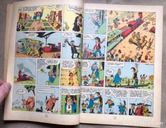 """Cómics: LUCKY LUKE """"DES RAILS SUR LA PRAIRIE"""". ED. DUPUIS 1967. EN FRANCÉS. - Foto 4 - 210980979"""