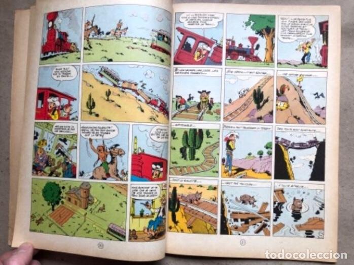 """Cómics: LUCKY LUKE """"DES RAILS SUR LA PRAIRIE"""". ED. DUPUIS 1967. EN FRANCÉS. - Foto 6 - 210980979"""