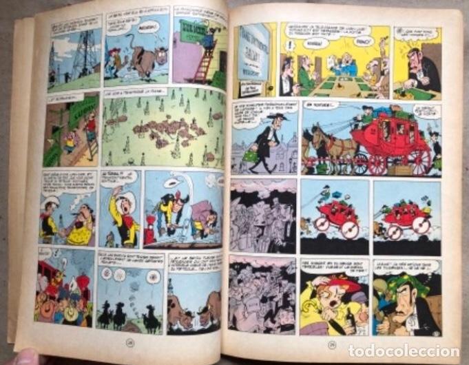 """Cómics: LUCKY LUKE """"DES RAILS SUR LA PRAIRIE"""". ED. DUPUIS 1967. EN FRANCÉS. - Foto 7 - 210980979"""