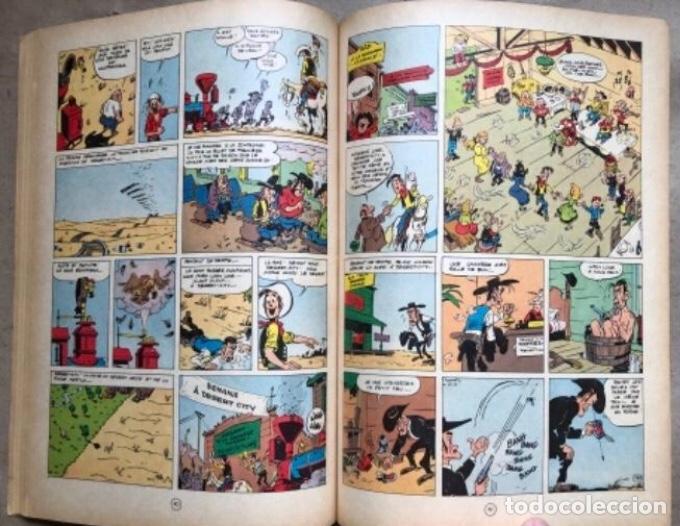 """Cómics: LUCKY LUKE """"DES RAILS SUR LA PRAIRIE"""". ED. DUPUIS 1967. EN FRANCÉS. - Foto 8 - 210980979"""