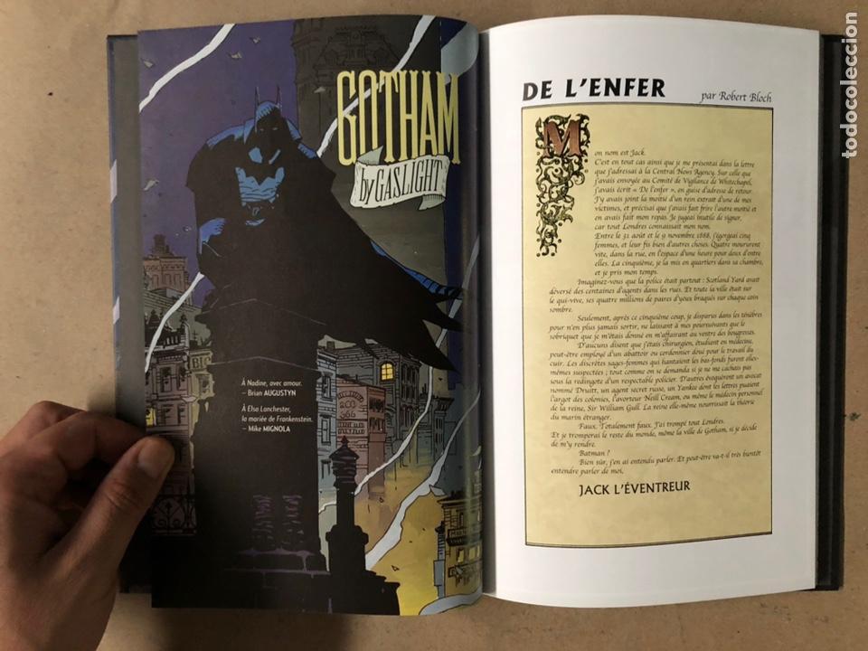Cómics: BATMAN GOTHAM BY GASLIGHT. BRIAN AUGUSTYN, MIKE MIGNOLA, EDUARDO BARRETO. DC COMICS 2018. FRANCÉS - Foto 3 - 211420127