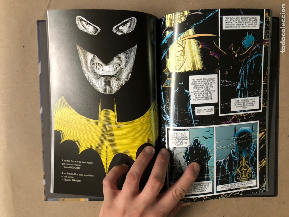 Cómics: BATMAN GOTHAM BY GASLIGHT. BRIAN AUGUSTYN, MIKE MIGNOLA, EDUARDO BARRETO. DC COMICS 2018. FRANCÉS - Foto 6 - 211420127