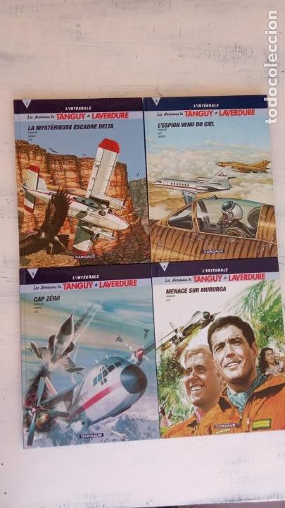 MICHEL TANGUY L'INTEGRALE NºS 3,4,7,8 - LES AVENTURES DE TANGUY ET LAVERDURE - CHARLIER - JIJÉ -DARG (Tebeos y Comics - Comics Lengua Extranjera - Comics Europeos)
