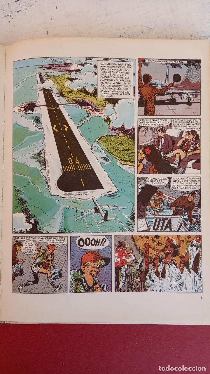 Cómics: LES CHEVALIERS DU CIEL TANGUY ET LAVERDURE - DARGAUD 1969 - MICHEL TANGUY - Foto 2 - 211438374