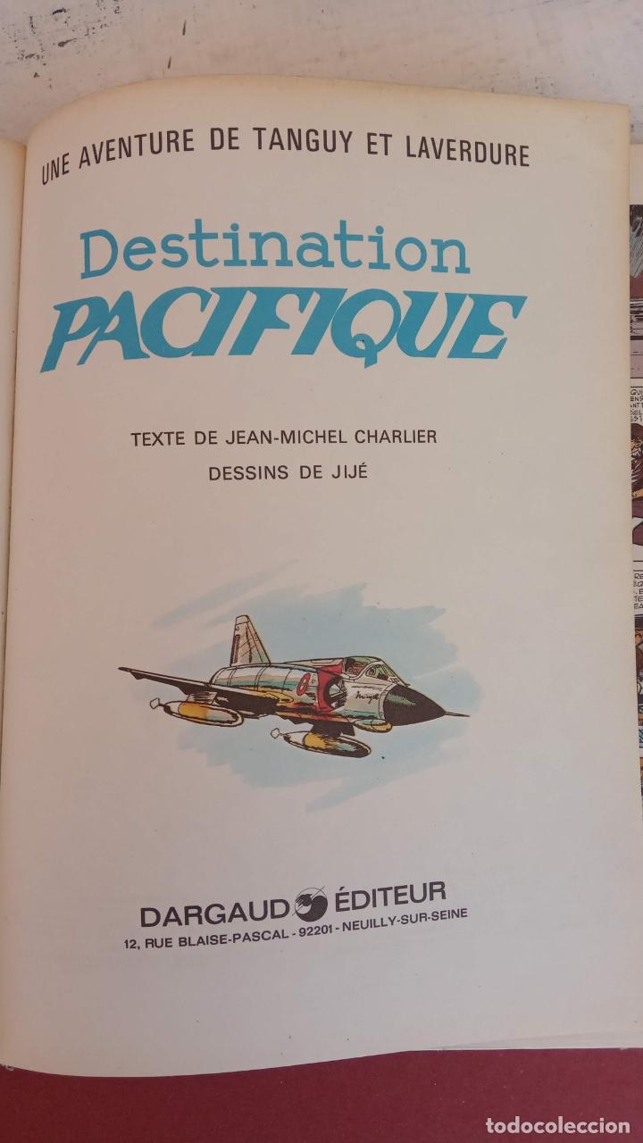 Cómics: LES CHEVALIERS DU CIEL TANGUY ET LAVERDURE - DARGAUD 1969 - MICHEL TANGUY - Foto 5 - 211438374