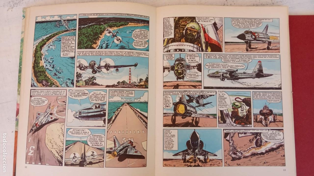 Cómics: LES CHEVALIERS DU CIEL TANGUY ET LAVERDURE - DARGAUD 1969 - MICHEL TANGUY - Foto 9 - 211438374