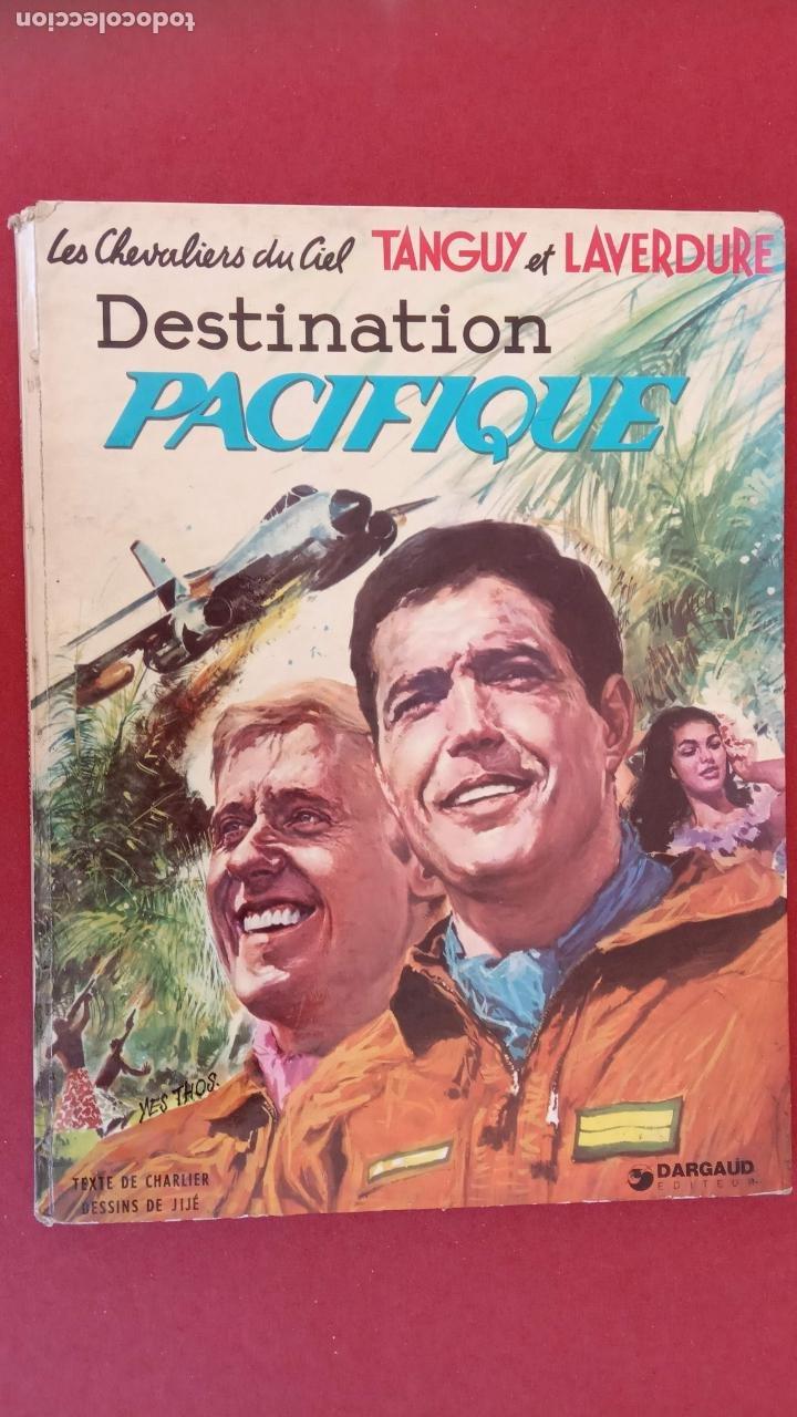 LES CHEVALIERS DU CIEL TANGUY ET LAVERDURE - DARGAUD 1969 - MICHEL TANGUY (Tebeos y Comics - Comics Lengua Extranjera - Comics Europeos)